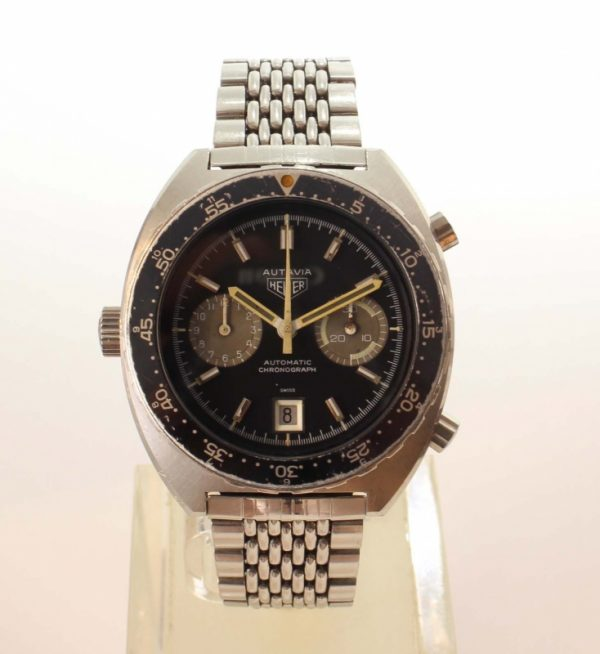 "HEUER Autavia Orange Boy Originalzustand 1 - HEUER Autavia ""Orange Boy"" Originalzustand"