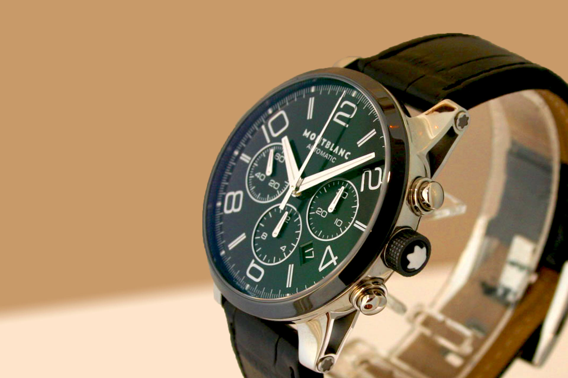 montblanc - Timewalker Chronograph Stahl/Keramik