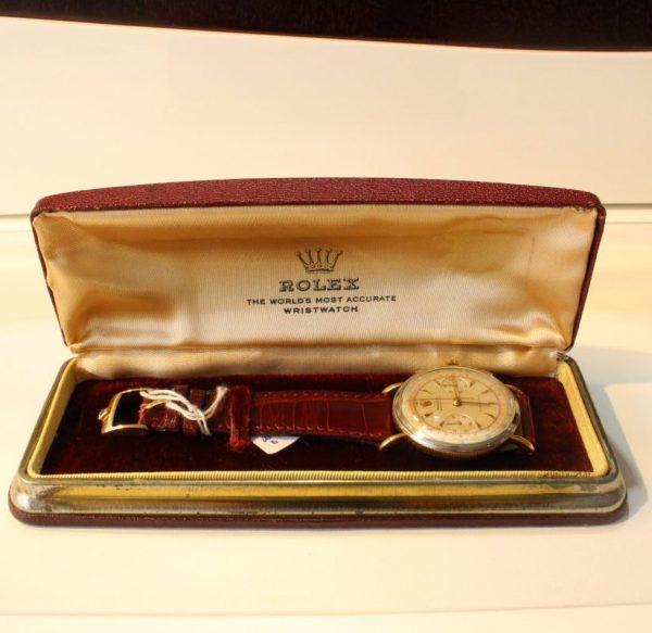 IMG 7491 - Chronograph Coin Edge Stahl/Roségold