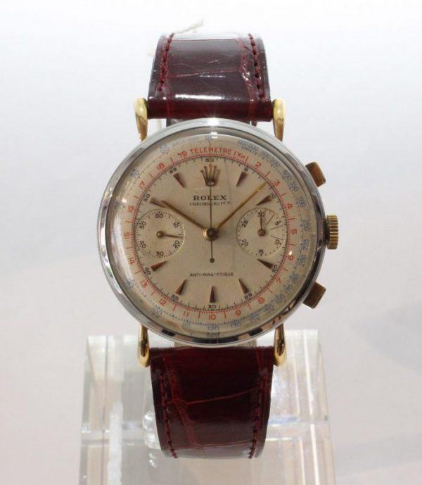IMG 7494 - Chronograph Coin Edge Stahl/Roségold