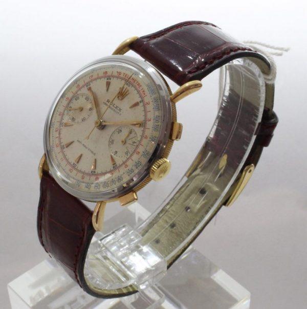 IMG 7501 - Chronograph Coin Edge Stahl/Roségold