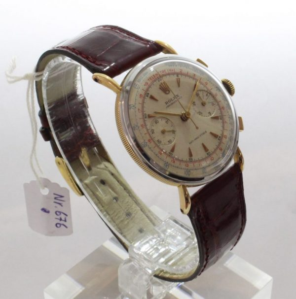 IMG 7504 - Chronograph Coin Edge Stahl/Roségold