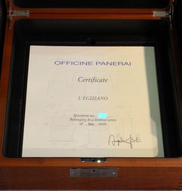 IMG 8728 - Panerai Special Editions Egiziano