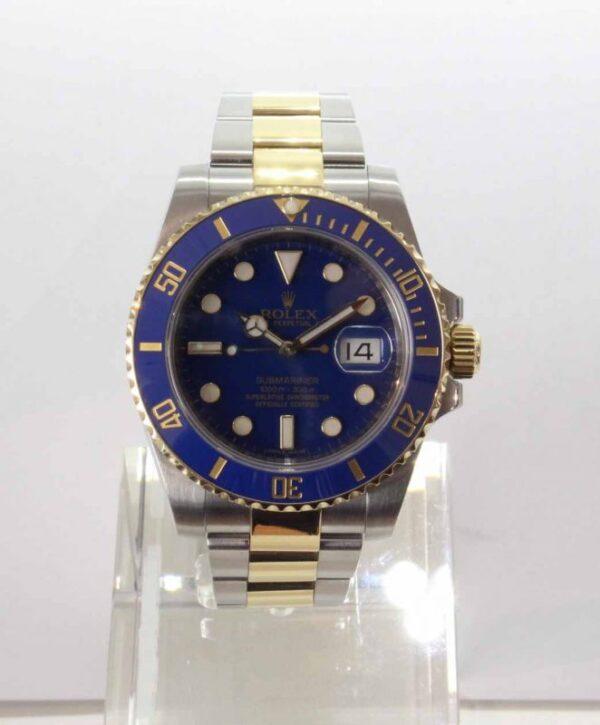 IMG 3922 - Oyster Perpetual Submariner blau (ungetragen)