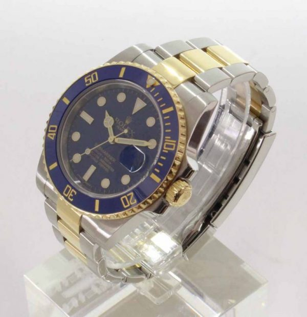IMG 3925 - Oyster Perpetual Submariner blau (ungetragen)