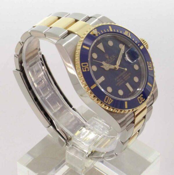 IMG 3927 - Oyster Perpetual Submariner blau (ungetragen)