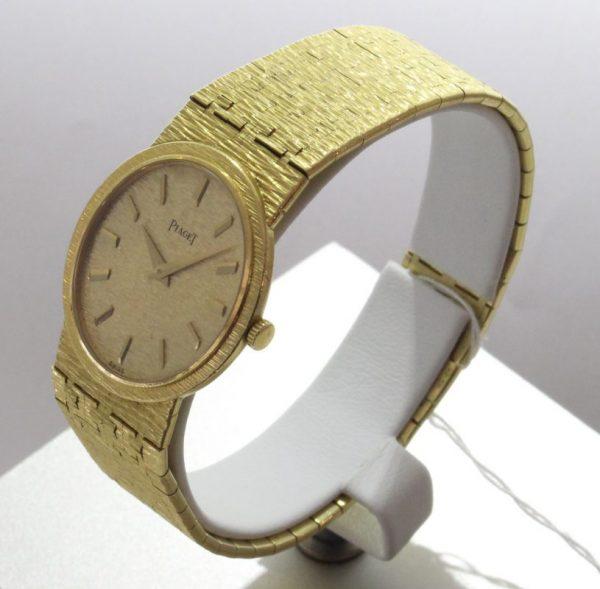 IMG 0487 - Damenschmuckuhr 750 Gelbgold