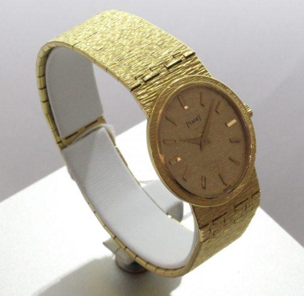 IMG 0489 1 - Damenschmuckuhr 750 Gelbgold