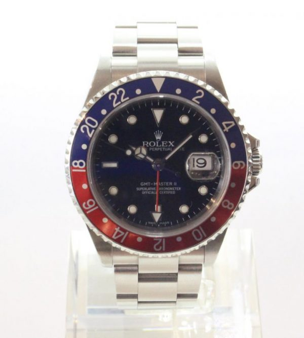 IMG 2811 - Oyster Perpetual GMT II Pepsi Stick Dial (Full Set)