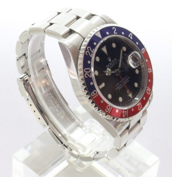 IMG 2815 - Oyster Perpetual GMT II Pepsi Stick Dial (Full Set)
