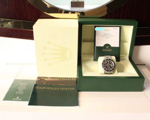 IMG 3172 - Rolex GMT-Master II Stick Dial (Full Set)