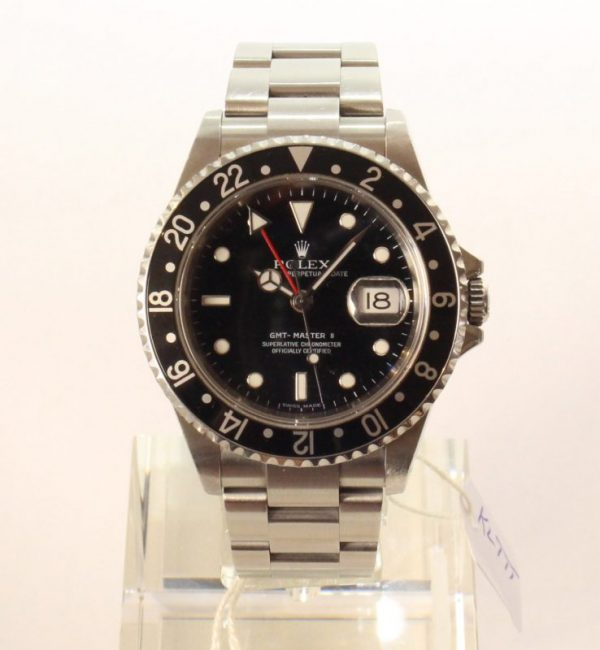 IMG 3179 - Rolex GMT-Master II Stick Dial (Full Set)