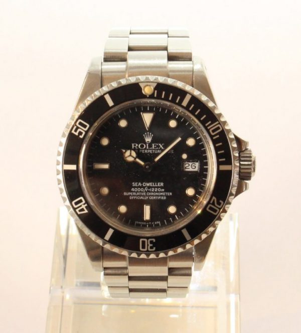 IMG 3201 1 - Rolex Sea-Dweller Tripple Six Mark IV Stardust-Dial (Full Set)