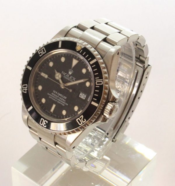 IMG 3203 - Rolex Sea-Dweller Tripple Six Mark IV Stardust-Dial (Full Set)