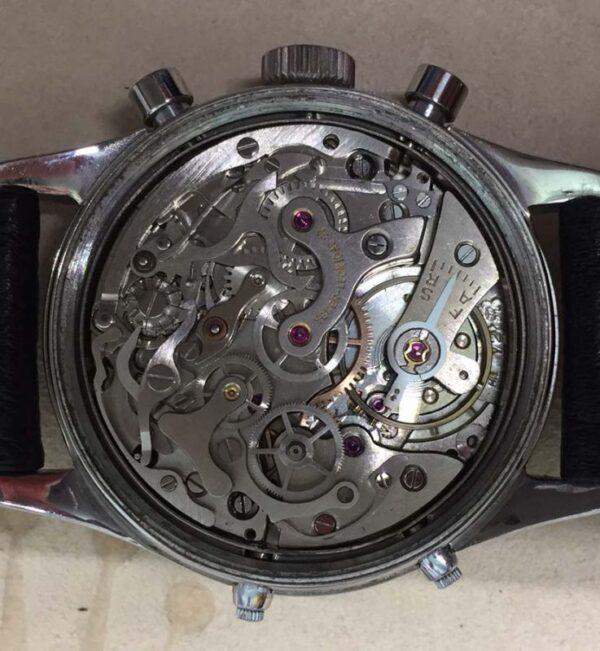 IMG 2677 600x651 - Dato-Compax triple calendar moonphase Chronograph