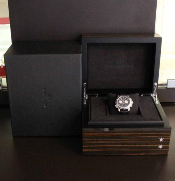 IMG 3774 - Jaquet-Droz Hommage Londres 1774 Chronograph GMT