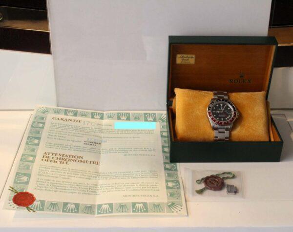 "IMG 4405 - Rolex GMT-Master II ""Coke"" Swiss only Dial (Full Set)"
