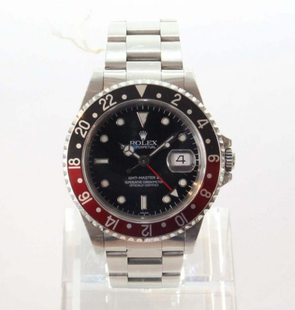 "IMG 4407 - Rolex GMT-Master II ""Coke"" Swiss only Dial (Full Set)"