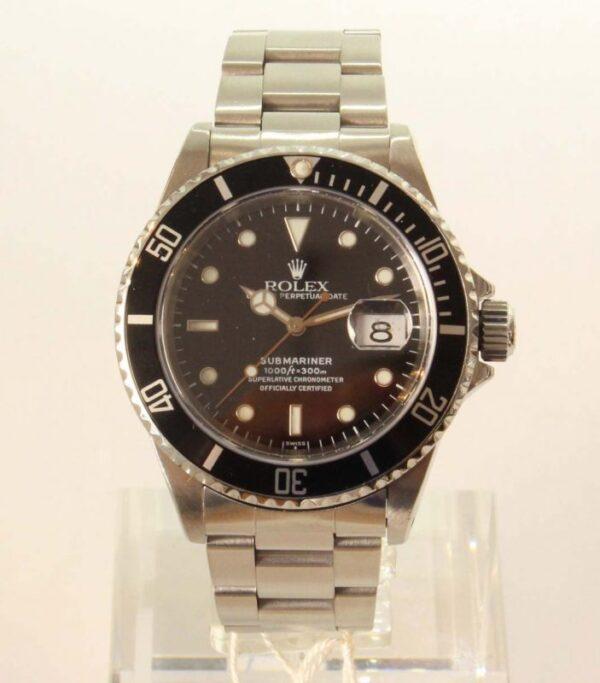 "IMG 4556 - Rolex Submariner Date ""Only Swiss"" (Rolex-Service 2020)"