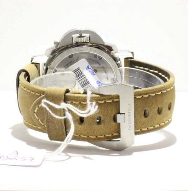 IMG 4594 600x610 - Panerai Luminor 1950 Left Handed 3 Pam 557 (Sticker)