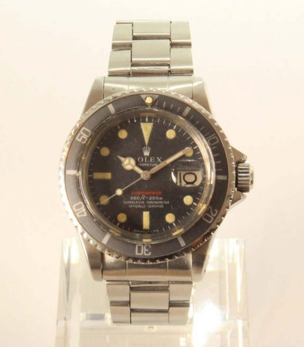 IMG 4699 - Rolex Submariner Date Red Tropical dial, 9315 bracelet