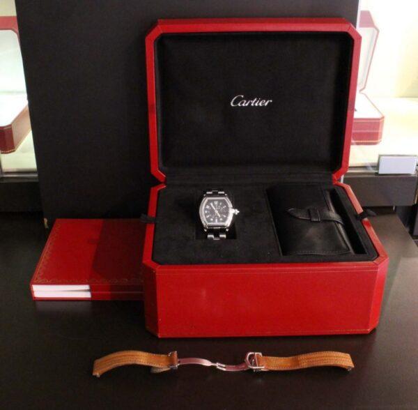 IMG 4839 - Cartier Roadster Stahl
