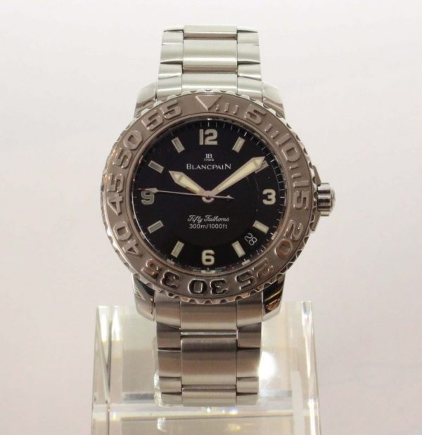 IMG 5621 600x619 - Fifty Fathoms Diver Steel 40mm 2200-1130-71